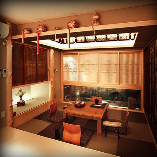 京都の宿泊施設 宿屋セイキ-SEIKI- Kyoto hotel accomodation SEIKI
